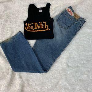 Von Dutch Vintage 90' jeans size 32